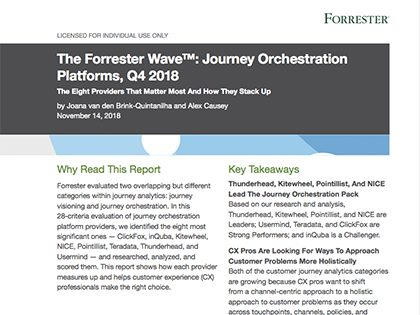 DOWNLOAD THE FORRESTER WAVE™