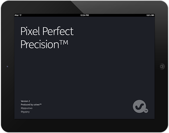 Pixel Perfect Precision front cover