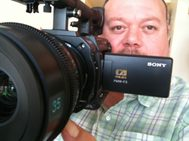Jamie Morden with Sony F3