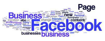 Social media Facebook profile business page