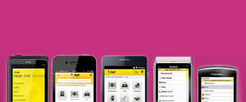 Yell mobile apps