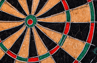 Image of dart board