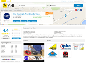 Image of Yell.com business listing