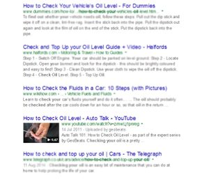 How video helps your SEO search result