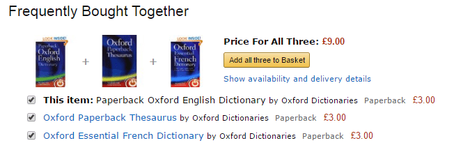 Frequently bought together - Amazon
