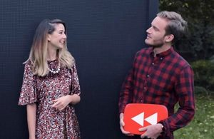 Image of Zoella and PewDiePie
