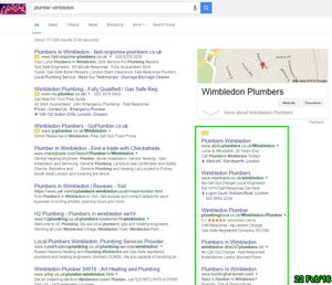 Google Adwords before February 2016 change