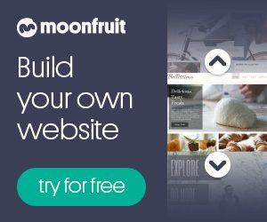 Moonfruit build your own website free trial