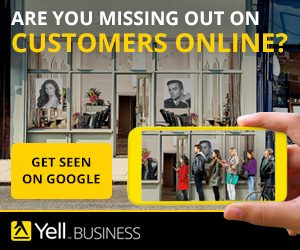 Are you missing out on customers? Get seen on Google with Yell