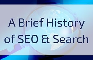 A Brief History of SEO and Search