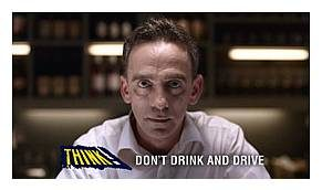 Don't drink and drive TV advert image