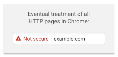 Your Business Needs To Move To HTTPS Chrome Non Secure Warning