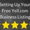 Setting Up Your Free Yell.com Business Listing