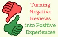 Turning Negative Reviews into Positive Experiences