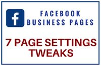 Facebook Business Page Settings