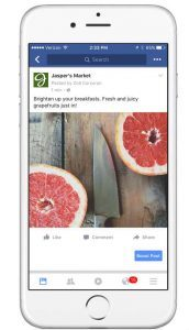 Facebook Boosted Post versus Adverts