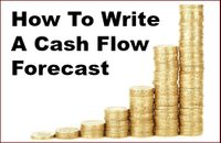 how to write a cash flow forecast