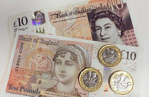 Image of new £10 note
