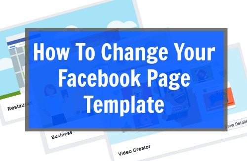 How to change your facebook page template yell business fbccfo Image collections