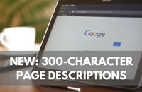 Google's new 300-character SERPs