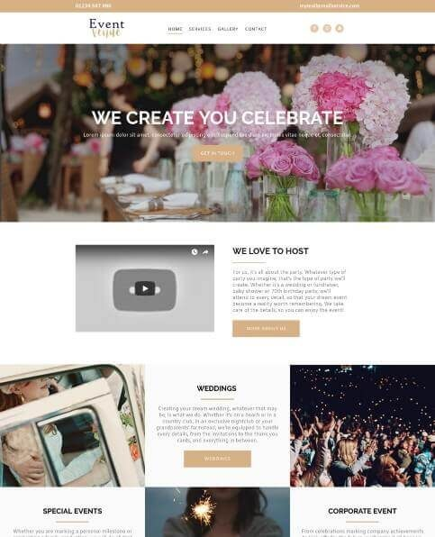 Wedding or Events