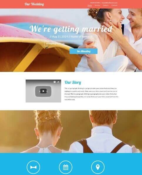 Wedding or Event template
