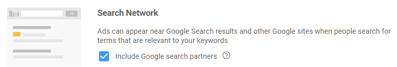 Search Partners Tick