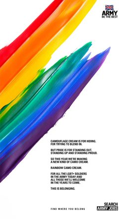 The British Army's 2017 Pride campaign - This Is Belonging