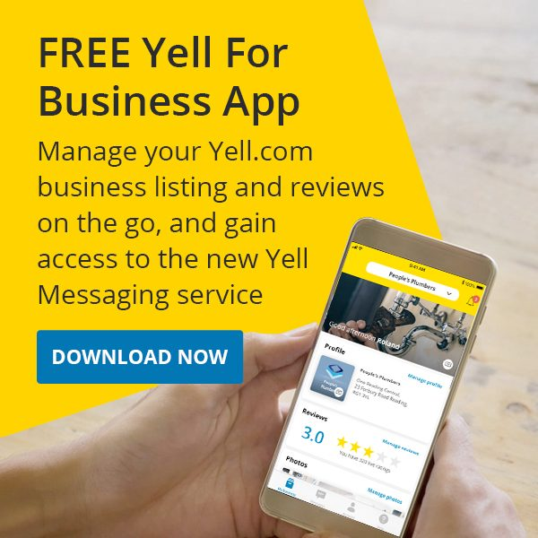 Yell for Business app